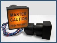 MASTER CAUTION indicator