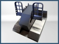 737 Steel pedals