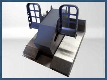 737 Steel pedals