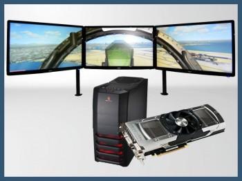 Sistema customizado para simulacion de vuelo