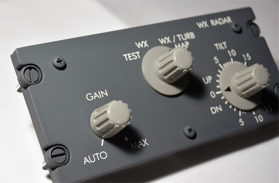Image result for wxr radar 737